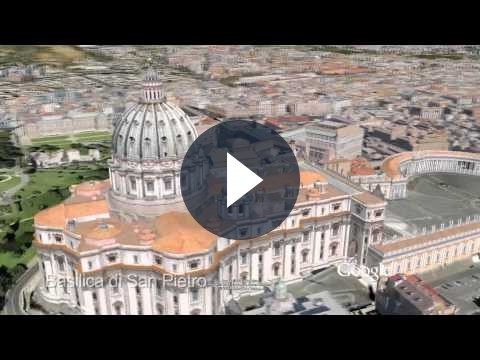 Su Google Earth arriva Roma odierna in 3D