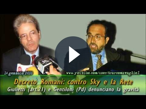 YouTube a rischio col decreto Romani