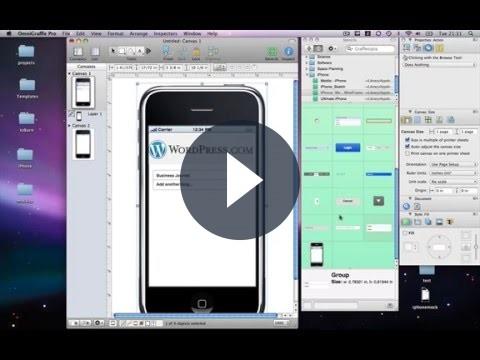 Creare bozze di applicazioni per iPhone