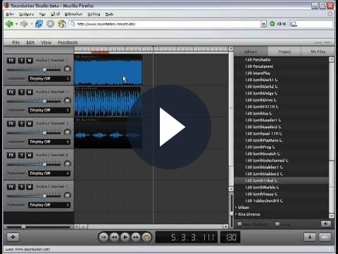 Musica elettronica su internet: crearla con Soundation
