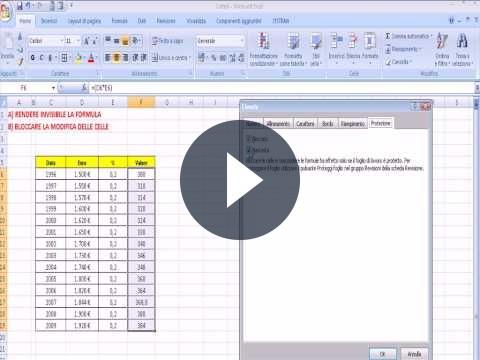 Bloccare celle Excel: ecco come fare