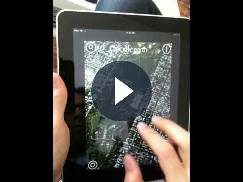 Google Earth arriva su iPad