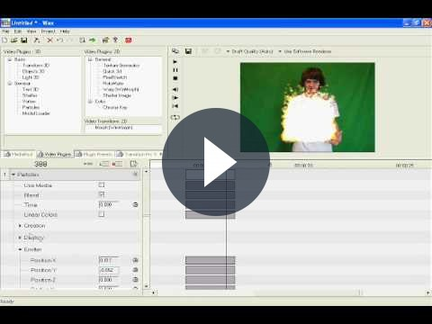 Comporre video con effetti speciali con DebugMode Wax