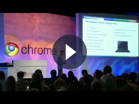 Google presenta il notebook con Chrome OS