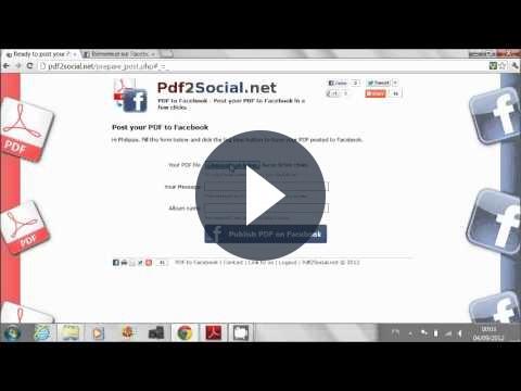 PDF su Facebook: condividerli con Pdf2Social [VIDEO]