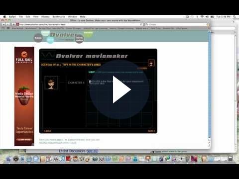 Cartoni animati su internet: ecco come crearli con Dvolver