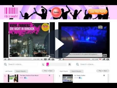 Mixare video di YouTube con Ibizaah