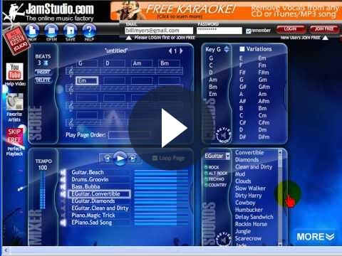 Basi musicali online: come crearle gratis con JamStudio