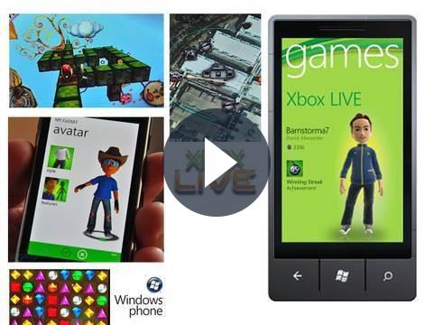 Windows Phone 7: arriva supporto Xbox Live