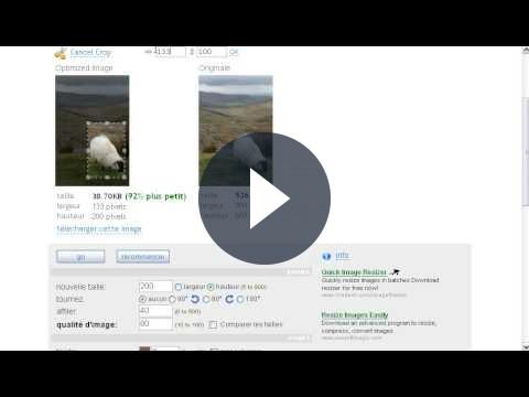 Manipolare le immagini con Web Resizer