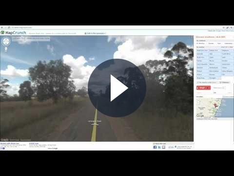 MapCrunch: incontro tra Street View e Chatroulette