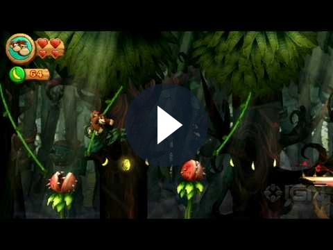 YouTube: spot italiano per Donkey Kong Country Returns